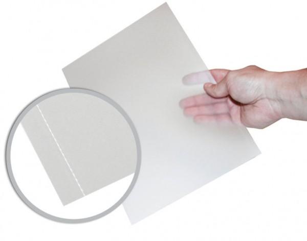 EasyOpen Cover A4 (297 mm), transparent matt