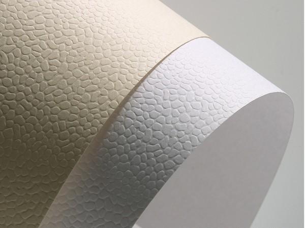 Falambi Premium Karton A4 - Mosaic - weiß