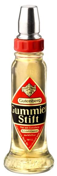 Gutenberg Klebstoff Gummierstift, 56 g, Glasflasche