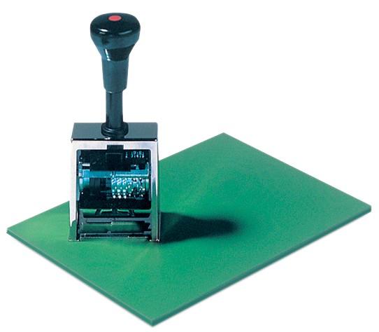 Läufer Stempelunterlage, 170 x 230 mm, Farbe: grün