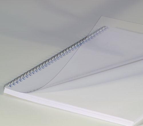 Deckblätter aus Klarsichtfolie RENZ - 150 mic - 0,15 mm