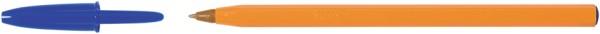 BIC Kugelschreiber Orange, Strichfarbe: blau
