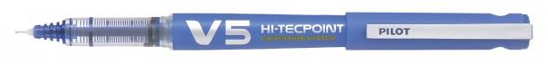 PILOT Tintenroller V5 Hi-Tecpoint, nachfüllbar, blau