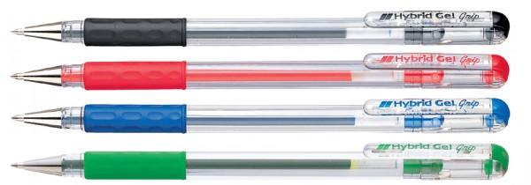 Pentel Gel-Tintenroller Hybrid Gel Grip K116, blau