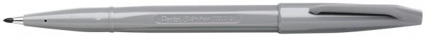 PentelArts Faserschreiber Sign Pen S520, silbergrau