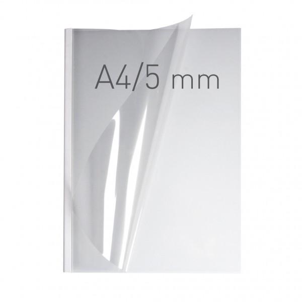 EasyCOVER A4 - PVC klar - 5,0 mm - weiß