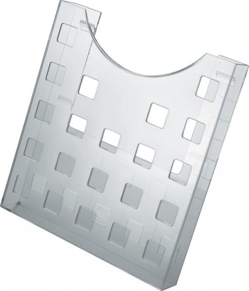helit Endstützensatz für Prospekthalter, glasklar