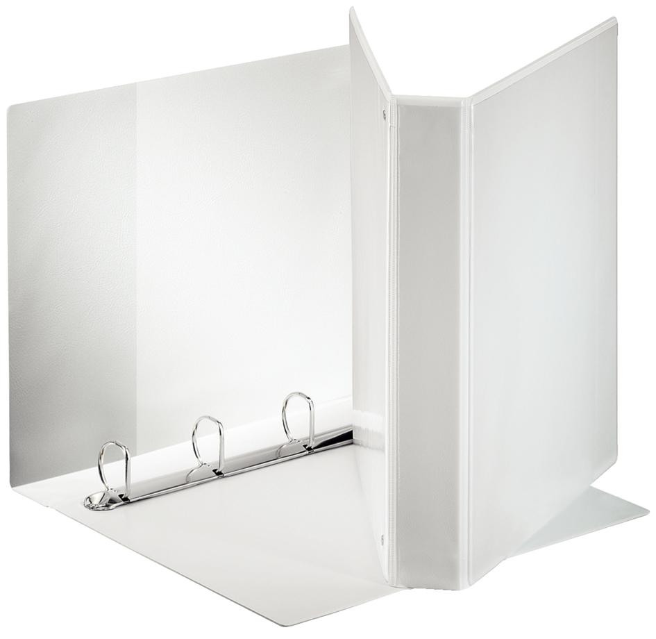 esselte pr sentations ringbuch din a4 wei 4 d ring falambi. Black Bedroom Furniture Sets. Home Design Ideas