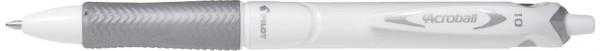 PILOT Druckkugelschreiber ACROBALL PURE WHITE, schwarz