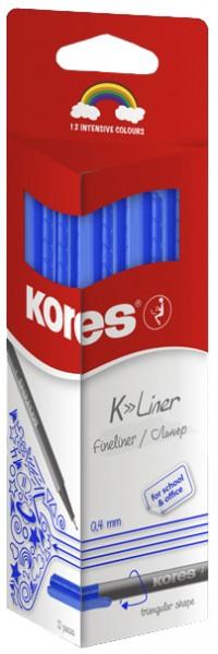 Kores Fineliner ´K-Liner´, Strichstärke: 0,4 mm, schwarz