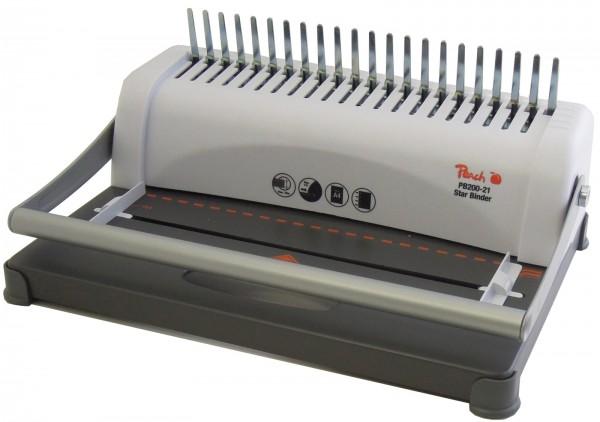 Stanz- und Plastik-Bindegerät Peach Star Binder Pro PB200-30-1