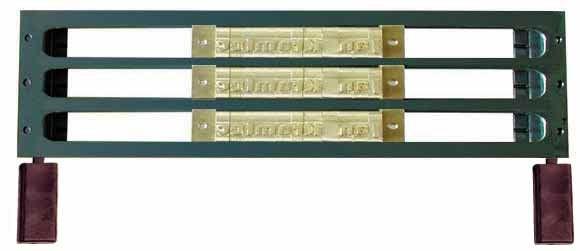O. Frame 3L4 für 3 Reihen 4mm Fonts