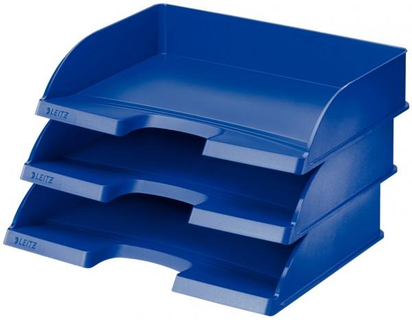 DIN A4 LEITZ Stehsammler Plus Jumbo Polystyrol blau