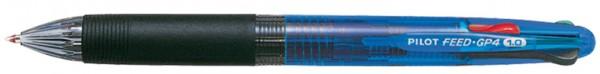 PILOT Vierfarb-Kugelschreiber FEED GP4, farbig sortiert