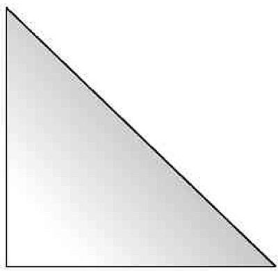 selbstklebende Dreiecktaschen - 75 x 75 mm