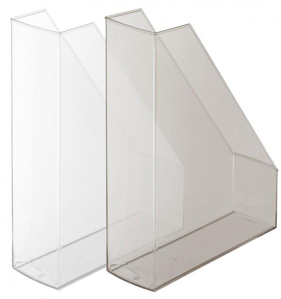 herlitz Stehsammler, DIN A4, Polystyrol, farblos-transparent