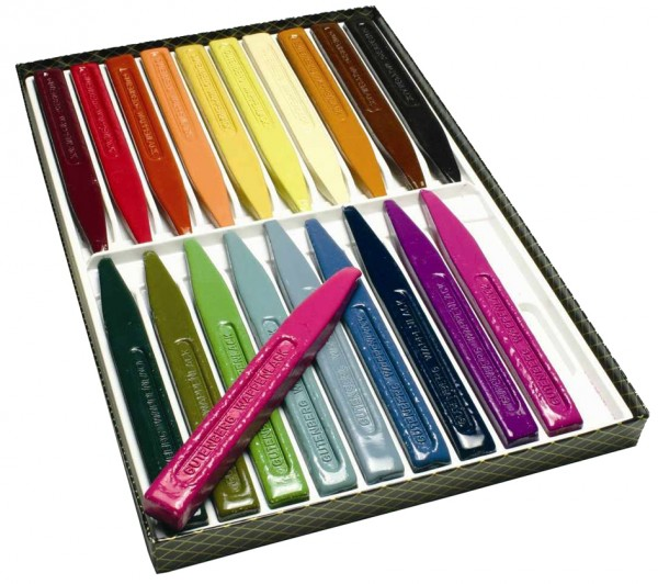 Gutenberg Siegellack Wappenlack, farbig sortiert