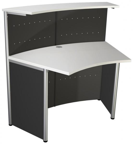 kerkmann Prospektfach, aus Metall, für Format DIN lang,chrom