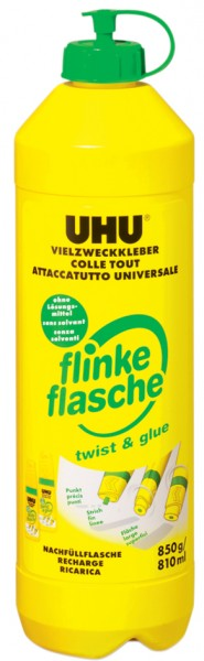 UHU Vielzweckkleber flinke flasche, 850 g