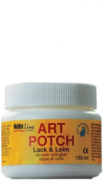 KREUL Servietten-Lack & Leim ART POTCH, matt, 150 ml