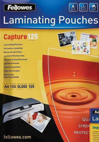 Fellowes Laminierfolien 2x 125 mic, A4 216 x 303 mm
