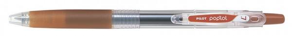 PILOT Gelschreiber POP´LOL, braun, Strichstärke: 0,4 mm