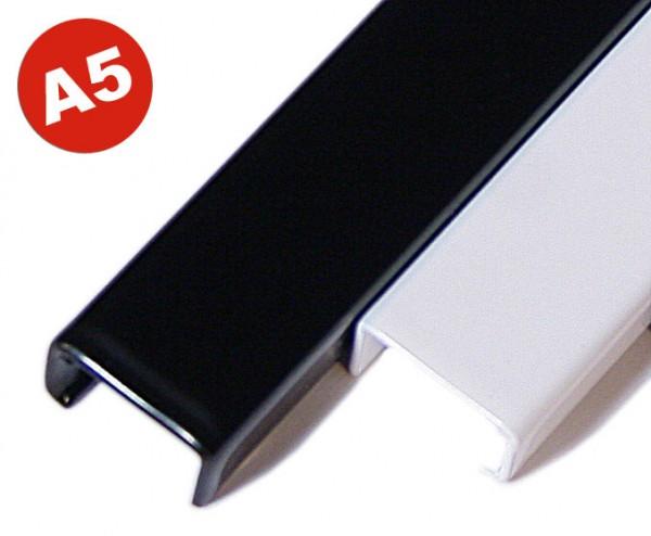Simple Channel A5 (210 mm), 5 mm - schwarz