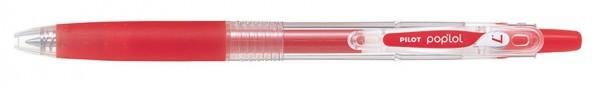 PILOT Gelschreiber POP´LOL, rot, Strichstärke: 0,4 mm