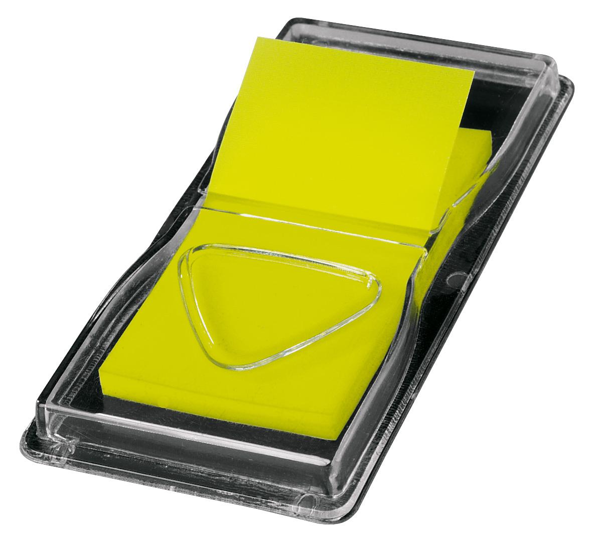 """sigel Haftstreifen /""""Z-Marker/"""" Neon neon-grün 25 x 45 mm"""