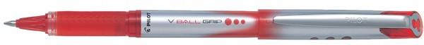 PILOT Tintenroller V-BALL Grip 5, rot