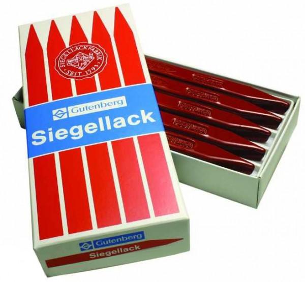 Gutenberg Siegellack Postlack, zinnoberrot