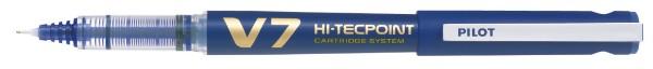 PILOT Tintenroller V7 Hi-Tecpoint, nachfüllbar, blau