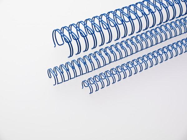 RENZ Drahtbinderücken, Teilung 3:1, 11.0 mm - blau - blau