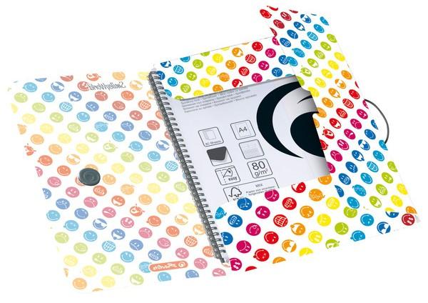 herlitz Zeichnungsmappe easy orga to go SmileyWorld Rainbow