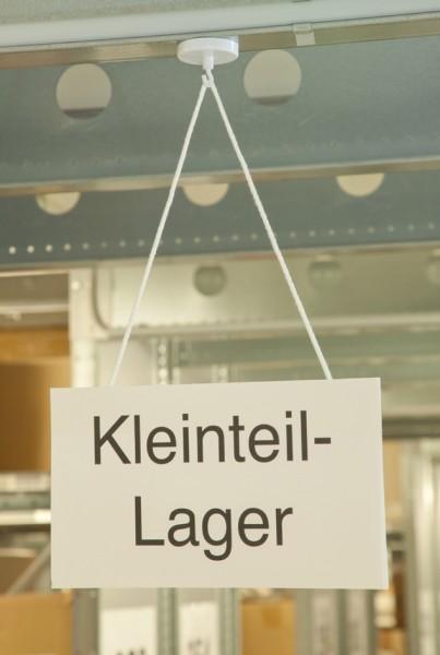 magnetoplan Hakenmagnet, weiß, Durchmesser: 47 mm