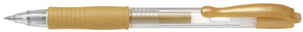 PILOT Gelschreiber G2 07 Metallic, silber