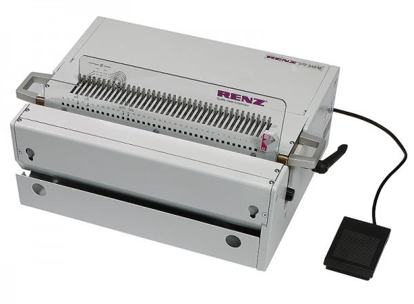 elektrische Tischstanzmaschine RENZ DTP 340 M