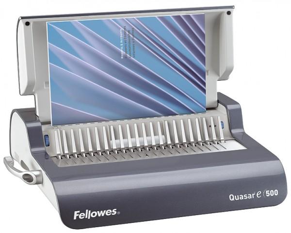 Plastik Bindegerät Fellowes Quasar-E 500, elektrisch