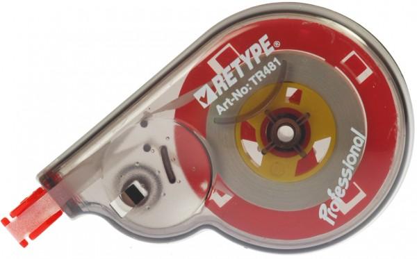 Kores Einweg-Korrekturroller ´RETYPE´, 4,2 mm x 12 m