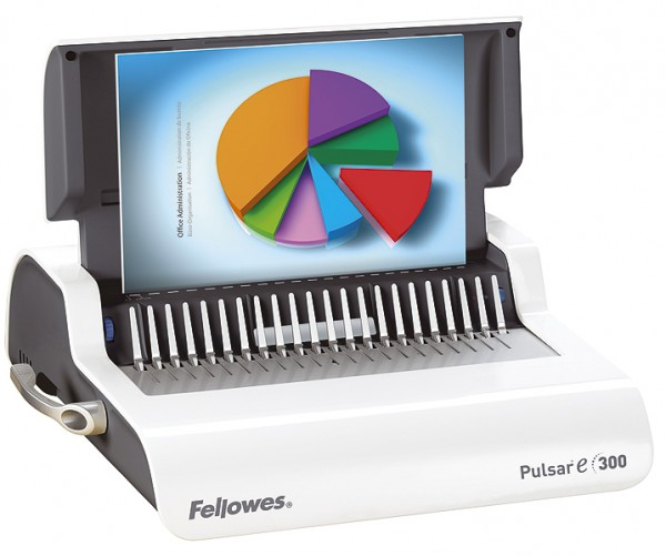 Plastik Bindegerät Fellowes Pulsar-E 300, elektrisch