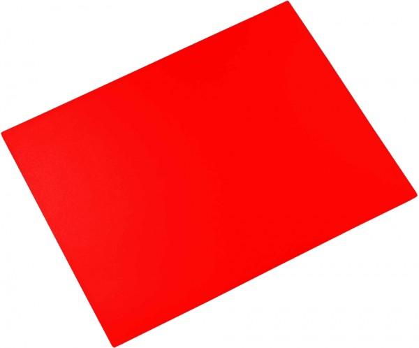 Läufer Schreibunterlage DURELLA, 400 x 530 mm, pop-rot