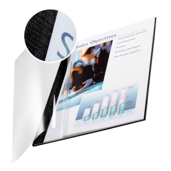 Leitz Soft-Cover-Mappen, ImpressBind, 3.5 mm - schwarz