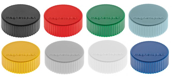 magnetoplan Discofix Rundmagnet ´magnum´, gelb