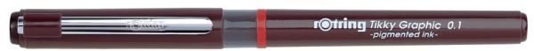 rotring Tikky Graphic Faserschreiber, Strichstärke 0,8 mm