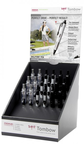 TOMBOW Druckkugelschreiber ´AirPress Pen´, 18er Display