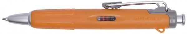 TOMBOW Druckkugelschreiber ´AirPress Pen´, orange/silber