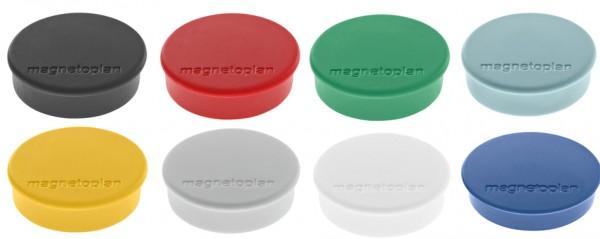 magnetoplan Discofix Rundmagnet ´hobby´, weiß