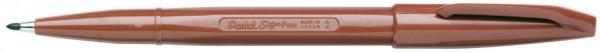 PentelArts Faserschreiber Sign Pen S520, braun