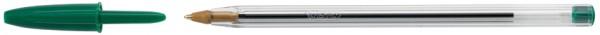 BIC Kugelschreiber Cristal Original, Strichfarbe: grün
