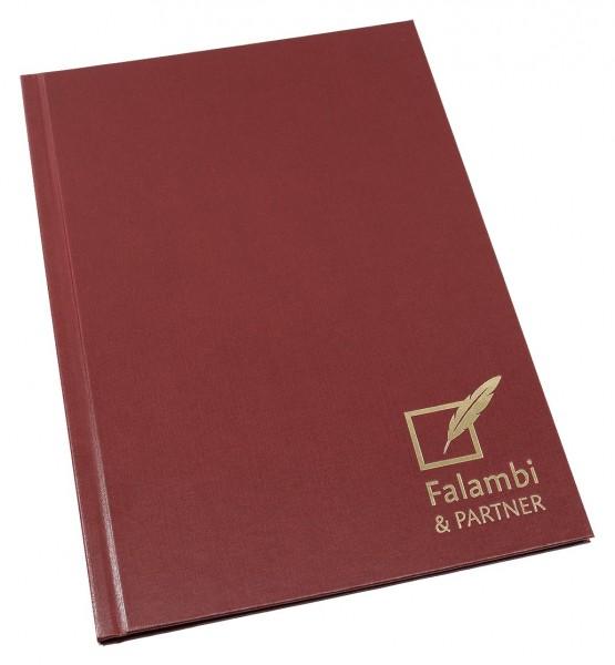 Hardcover Mappe für Notare